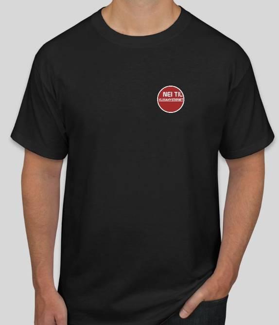 Bilde av T-skjorte Nei Til Klimahysteriet