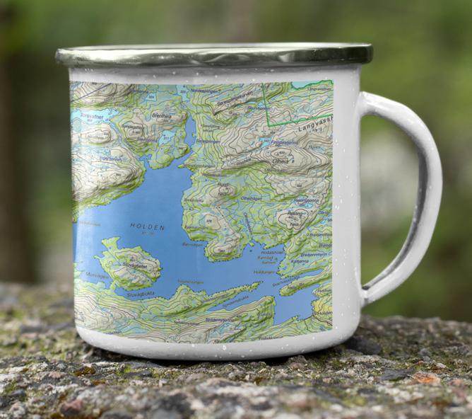Bilde av HOLDEN/HØRDIN kart kopp