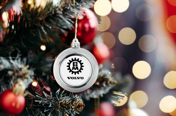 Bilde av Volvo BM julekule